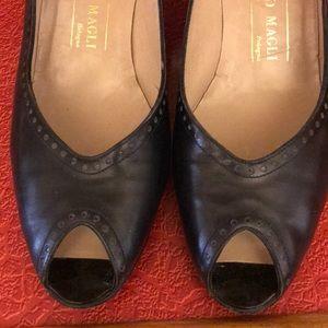 Shoes - FINAL PRICE Vintage Bruno Magli peekaboo pump